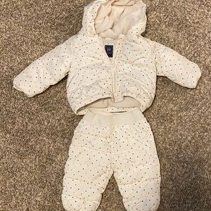 Baby Gap 12-18 month coat and snowpants
